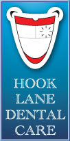 Hook Lane Dental Practice logo developed by Toucan Internet